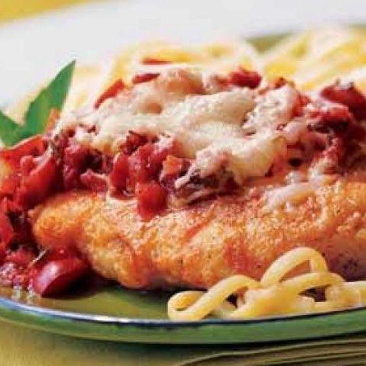 Weight Watchers Chicken Parmesan on MyRecipeMagic.com #weightwatchers #chicken #parmesan #healthy