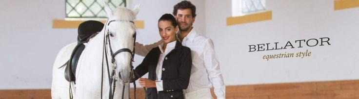 A Bellator é uma marca de roupa de equitação, criada por Liliana Serra, uma apaixonada por cavalos lusitanos, que busca nesta raça de equídeos a inspiração para as suas criações.  #Cavalos #VestuárioEquitação