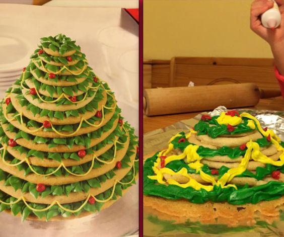 Este bolo temático: | 19 fracassos na cozinha que só o Natal pode proporcionar