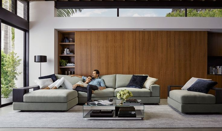 Jasper by King Living Australia / Sofas and Modulars, Lounge Room