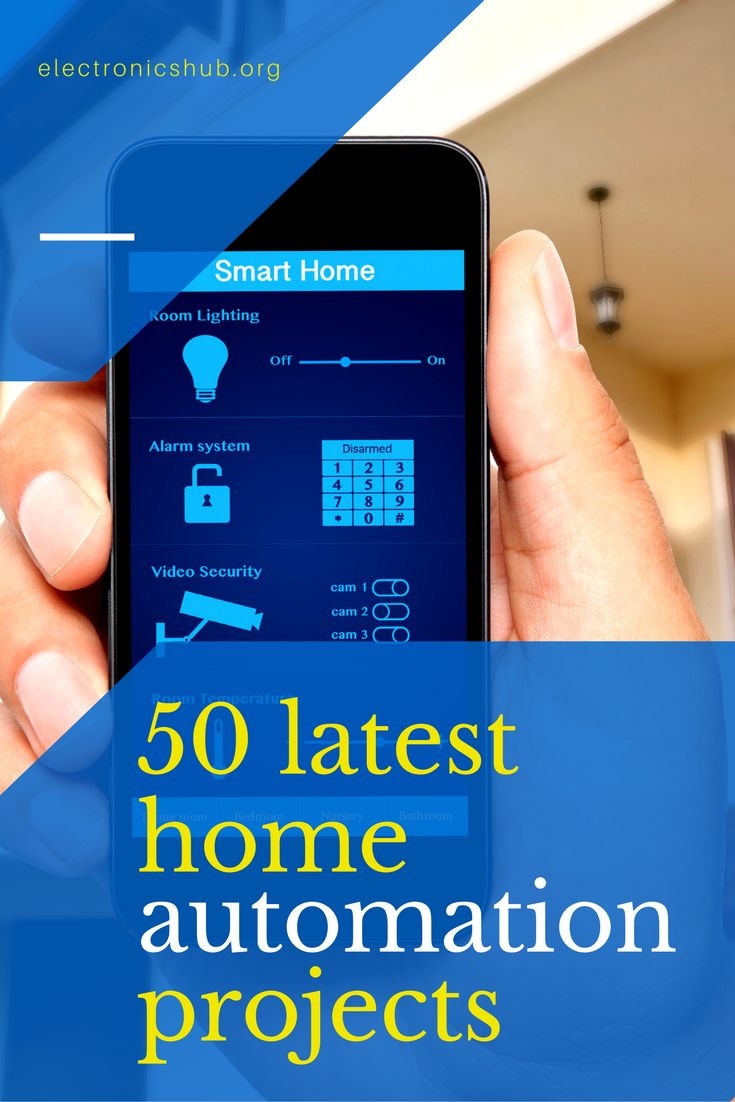 Home electronics project ideas