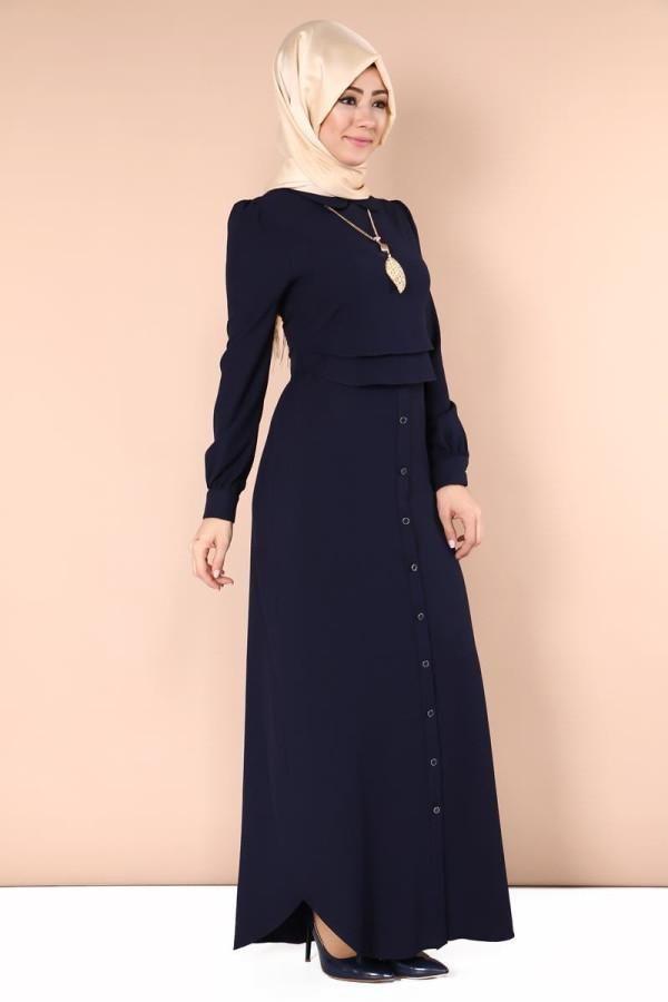 A beauty blue dress from #Hijablooms   tall 142 - normal size - wash on 30 C degree  Moda Hurrem  mdh6398 DARK PLUE   #abaya #jilbab #muslimahwear #muslimah #muslim #hijabers #hijabfashion #Hijablooms  https://hijablooms.ca/collections/dresses/products/likra-polyviskon-1?utm_content=bufferb64f7&utm_medium=social&utm_source=pinterest.com&utm_campaign=buffer