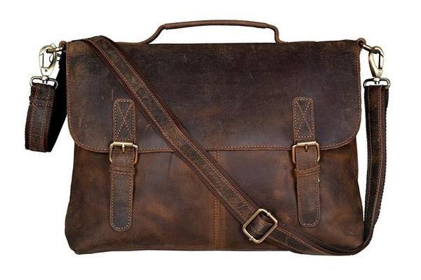 Leather Satchel Cordoba - Vintage Leather