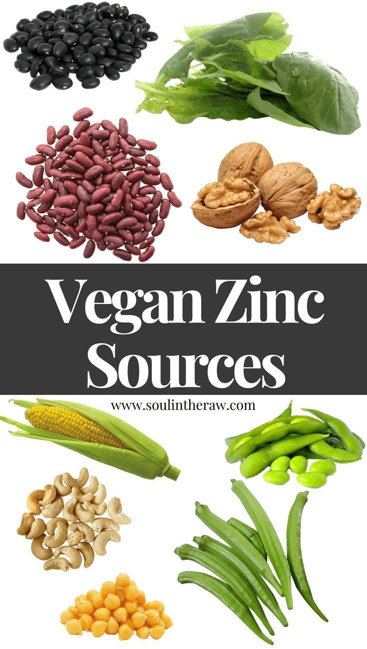Vegan Zinc Sources Get All Your Zinc On A Plant Based Diet Vegan Zinc Sources Plant Based Diet Nutrition Recipes