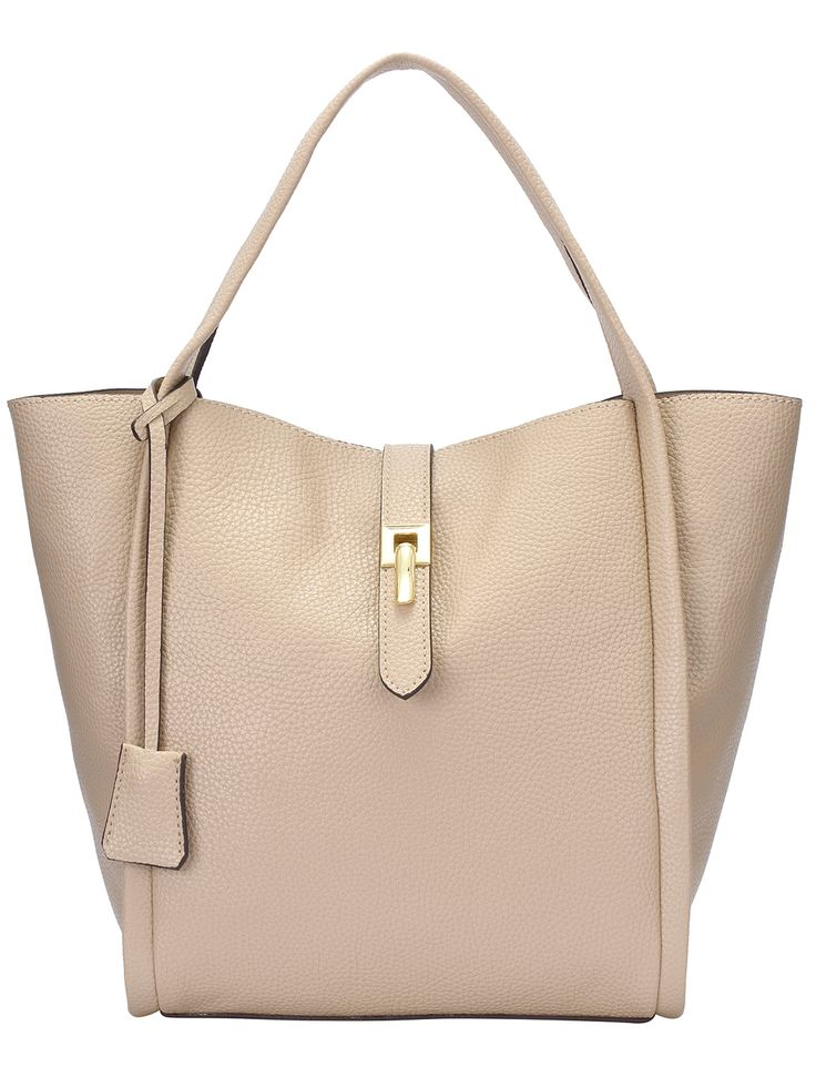 Shop Beige Two Pieces PU Tote Bag online. SheIn offers Beige Two Pieces PU Tote Bag & more to fit your fashionable needs.