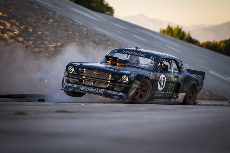 Ken Block Drifts Streets Of Los Angeles with Ford Mustang in Gymkhana 7 video. Watch it all here http://www.racingnewsnetwork.com/2014/11/17/gymkhana-7-los-angeles-ken-block/ #kenblock