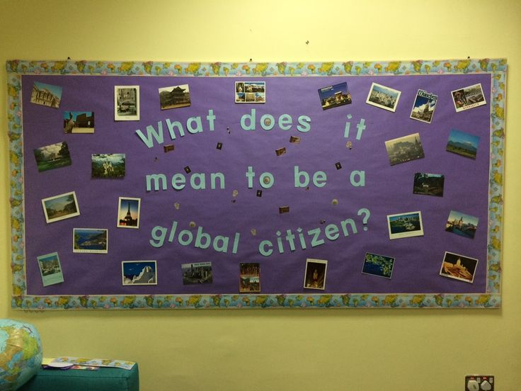 global citizenship bulletin board | the adventurous school counselor blog