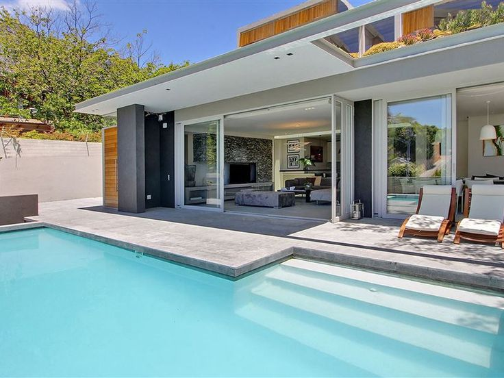 Blinkwater Villa - The Blinkwater is a spacious, luxurious and modern upmarket villa located in Cape Town's trendiest suburb, Camps Bay.This architect-designed house has amazing views of the bay, Lion's Head and Table ... #weekendgetaways #campsbay #capetowncentral #southafrica