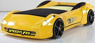 Ferra Sarı Arabalı Yatak
