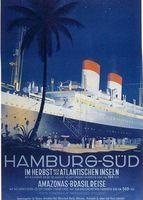 Гамбург Германия Парусный Корабль Столба Путешествия Ad Вид Красоты Немецкий…