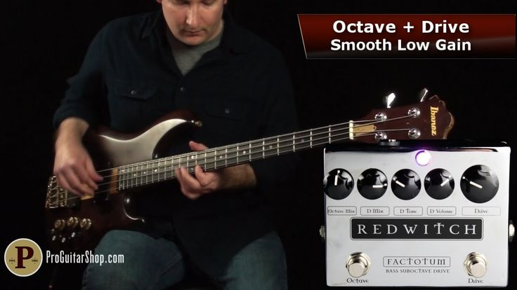 An independent review of the Factotum Bass Suboctave Drive by Andy at ProGuitarShop Collective absolutely nails the essence of it in this great demo