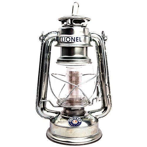 Lionel Silver Battery Powered Lantern  Reminiscent of Old Kerosene Lamps by Unknown * You can get additional details at the image link.