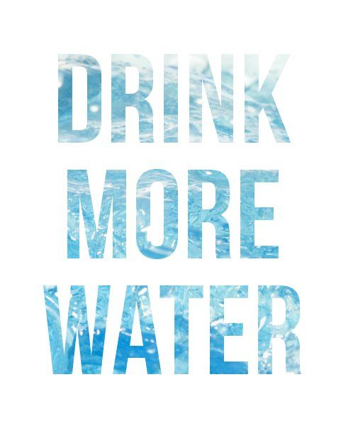 H2-Oh Yes You Can!!!  I need to.. so bad at it.. I used to drink a lot of water.  Starting back on that trend.