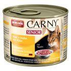 Animonda Carny Senior Kattenvoer 6 x 200 g, met kaas