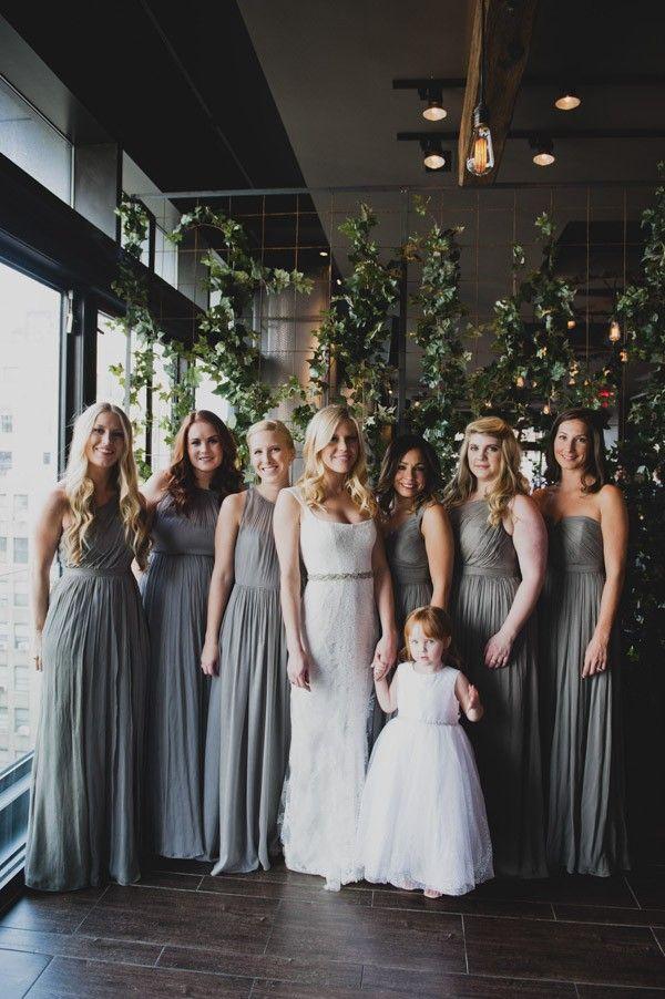 Best 25  Grey bridesmaids ideas on Pinterest   Grey bridesmaid ...