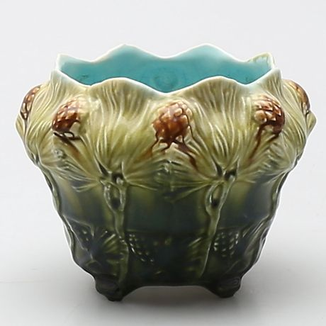 YTTERFODER, majolika. Rörstrand Jugend ca 1900. Keramik & Porslin - Europeiskt – Auctionet