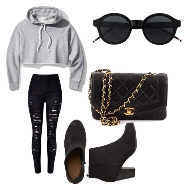 """""""Untitled #106"""" by anais-maria on Polyvore featuring Frame and Chanel"""