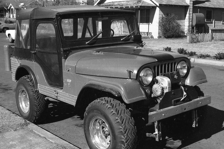 766 Best Vintage Jeep Cj5 And Willys Images On Pinterest