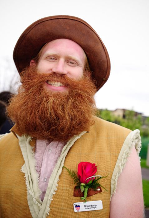 the biggest ginger beard youve ever seen? yes. indeed.