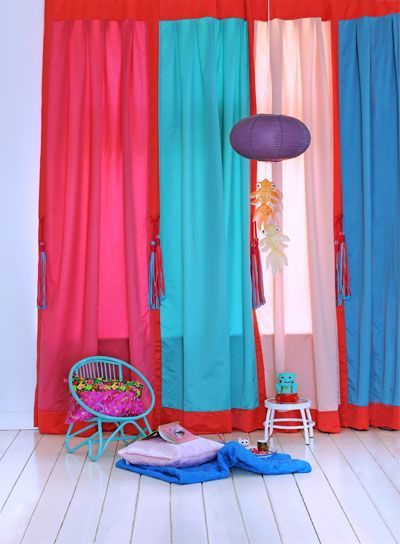 Best 16 kleurrijke gordijnen images on Pinterest | Blinds, Baby room ...