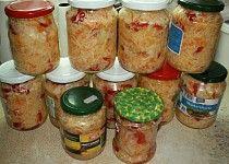 ČALAMÁDA - zelí, mrkev, papriky