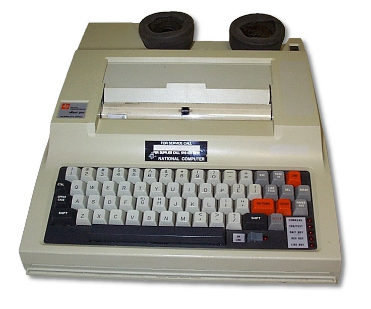 Texas Instruments Portable Terminal: Another computer terminal with acoustic modem, printer built in.