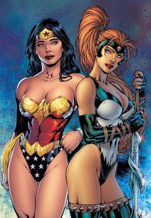 Wonder Woman and Artemis