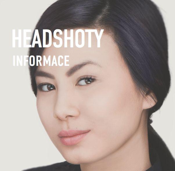 Headshoty / portréty  Headshot je typ portrétu - narozdíl od portrétu však využivá čistě subjekt resp. jeho výraz pro vyjádření postojů , emocí. V portrétu lze tohoto docílit pomocí rekvizit, oblečení. U headshotu však nikoliv.  Cílem focení je vytvořit fotografie, které vás vystihují. Užití fotografií je na vás, někteří je používají jako dárek pro své blízké, pro sebe např. na sociální sítě a někteří je mají pro obchodní účely pro svou prezentaci.  Během focení Vás vede zkušený fotograf.