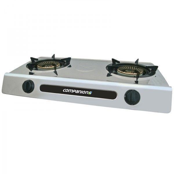 Companion Dual Burner Wok Cooker New Caravan Camping RV Motorhome Accessories