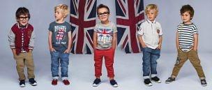Beatles Tee, Stripey Tee & Chinos: Kids'S Xo Xo, Des Ange