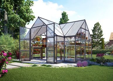 Victory Orangery – Garden Chalet - World of Greenhouses - 1