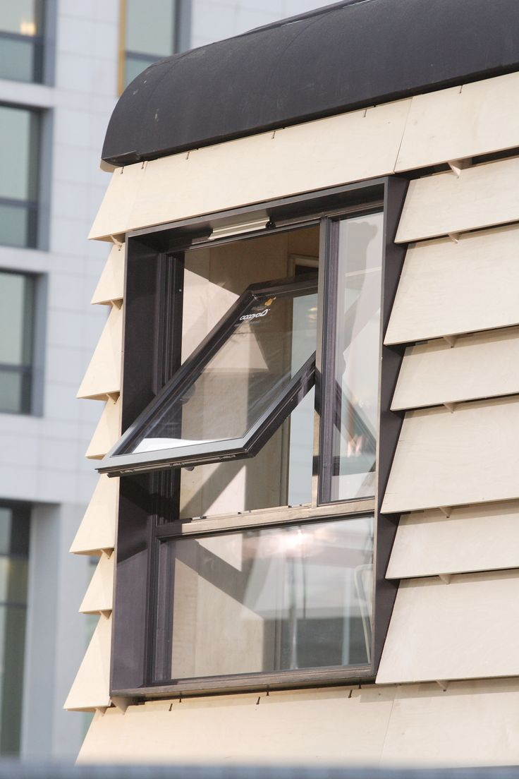 Accoya® - modified Radiata Pine used for windows. Copyright: Accsys Technologies.