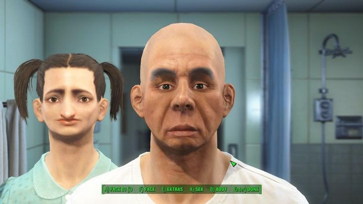 On a quest to make the ugliest Shaun #Fallout4 #gaming #Fallout #Bethesda #games #PS4share #PS4 #FO4