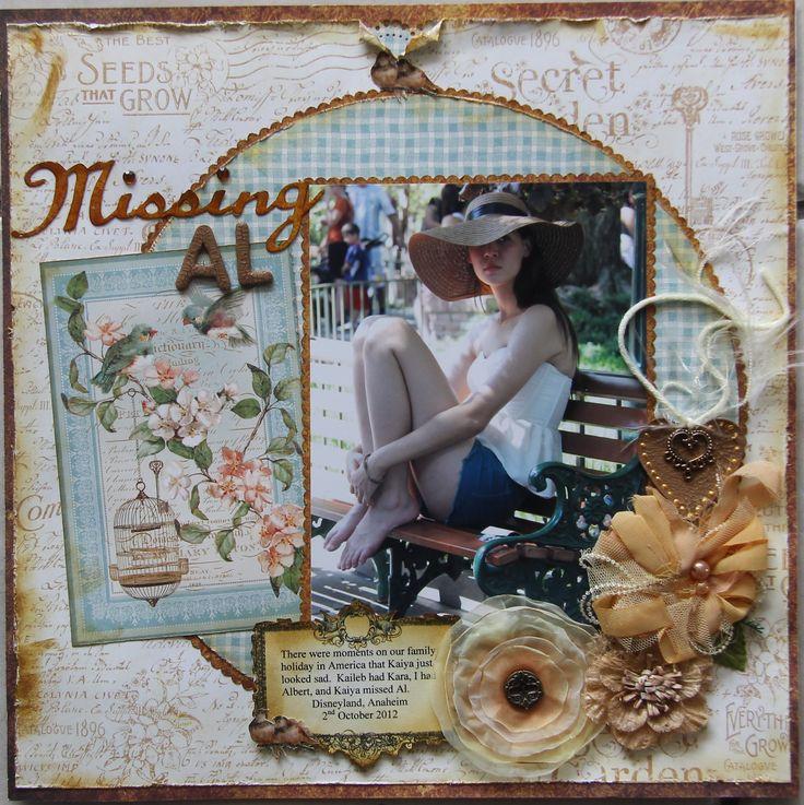 Missing Al - Scrapbook.com