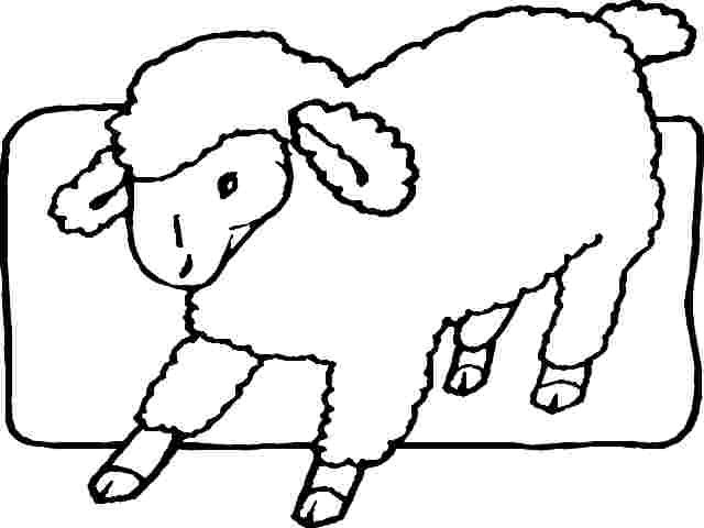 christian coloring pages lamb - photo#26