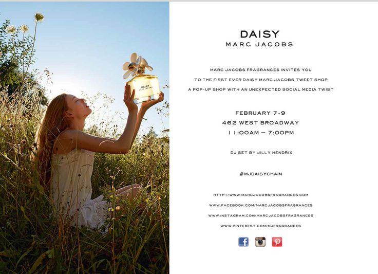 #MJDaisyChain e Marc Jacobs