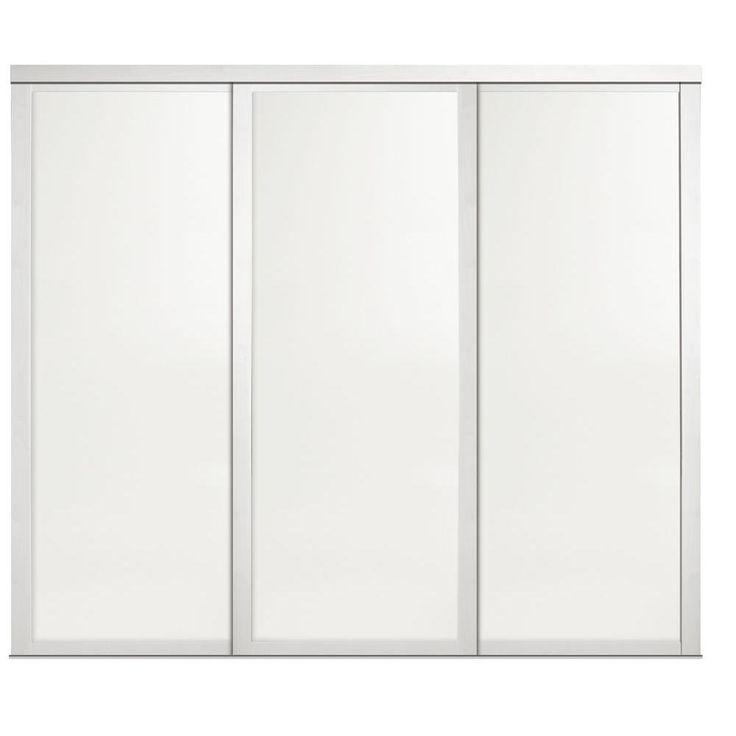 Custom door and mirror european shaker series full panel Interior sliding doors home depot