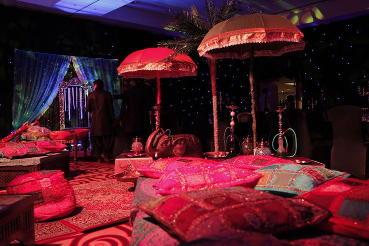 Mehndi function and Party Umbrellas