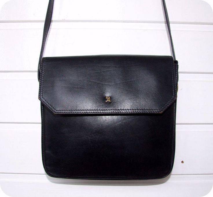 ASSIMA Vintage 80er Leder Schultertasche Handtasche Leather Tasche City Bag    Kleidung & Accessoires, Damentaschen   eBay!