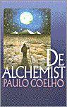 Titel: De alchemist.  Auteur: P. Coelho