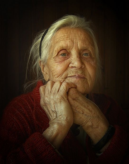 I want to look just like her when I get to be her age. SC