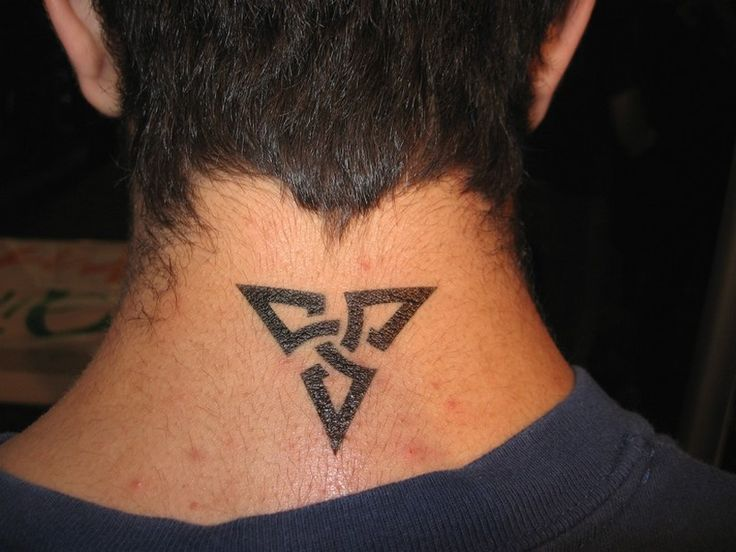 small neck tattoos for tribal design 5 fashion