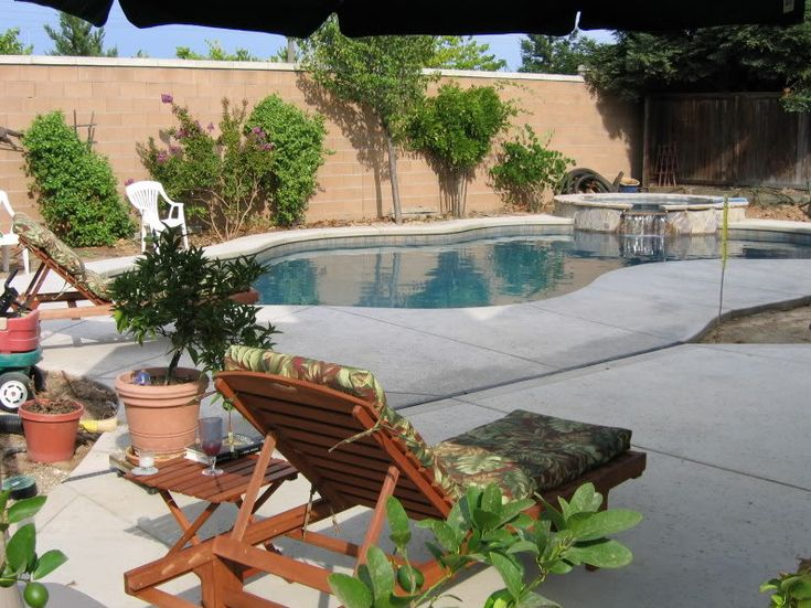 Best Pools Backyards Images On Pinterest Pool Backyard