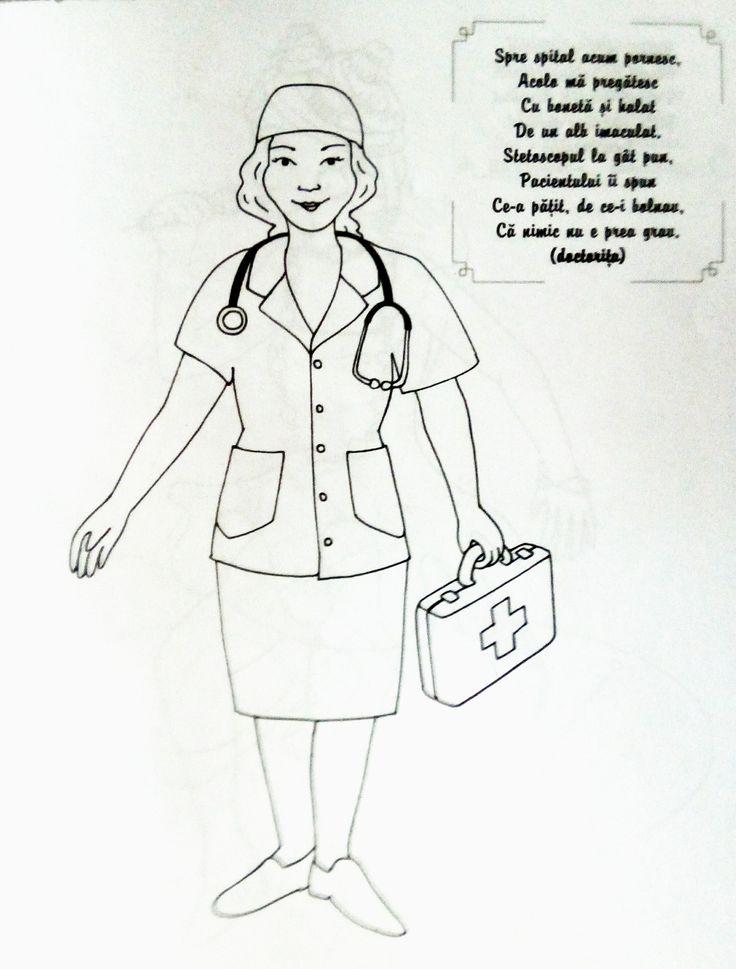Doctorita - Descoperim profesiile si meseriile