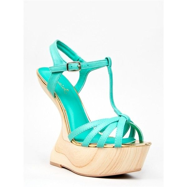 25 best ideas about mint wedges on turquoise