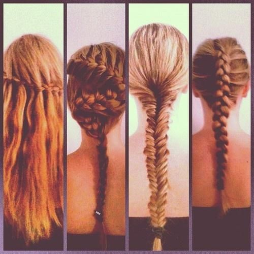 Types Of Braids Hairstyles For Long Hair Pinterest