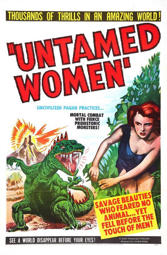 affiche vintage film horreur 1950 02 Affiches de films dhorreur des années 50