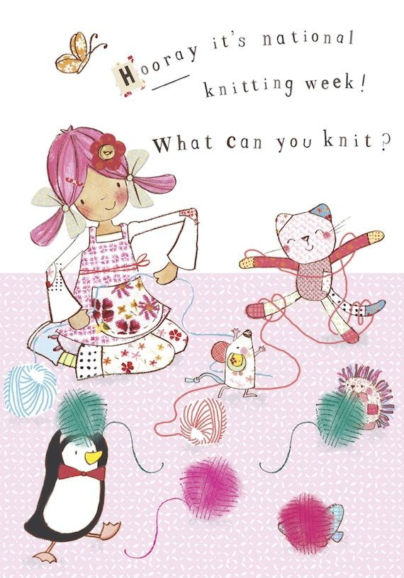 It's National Knitting Week! Can you crochet or knit or do you get into a tangle like Bobble.