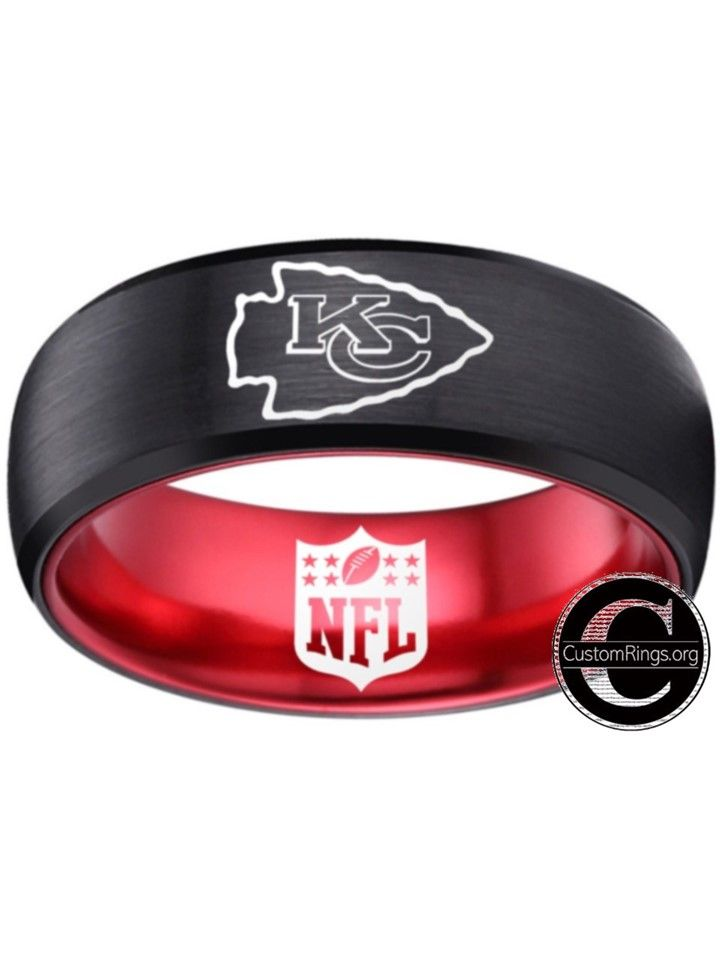 Kansas City Chiefs Ring Chiefs Logo Nfl Kansas City Chiefs Logo Kansas City Chiefs Football Kansas City Chiefs