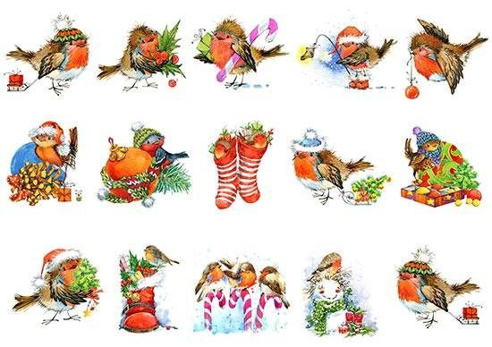 Paper Decoupage Paper A4 NY-112 Christmas ART paper